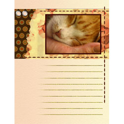 "Scrapbook template ""Family #17"" in ""Family"""