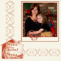 "Scrapbook template ""Home #08"" in ""Home"""
