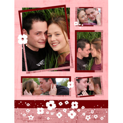 "Scrapbook template ""Love #03"" in ""Love Scrapbooking"""
