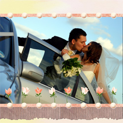"Scrapbook template ""Wedding #16"" in ""Wedding Scrapbooking Templates"""