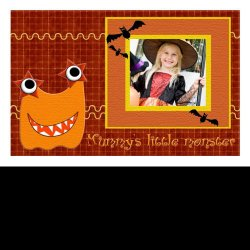 "Scrapbook template ""PhotoMix Little Witch #6"" in ""Halloween"""