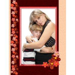 "Scrapbook template ""Mothers Day #20"" in ""Mother`s Day"""