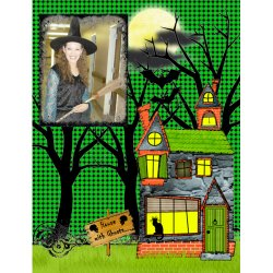 "Scrapbook template ""Halloween2008 #17"" in ""Halloween"""
