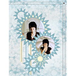 "Scrapbook template ""Silver Dreams #13"" in ""Silver Dreams"""