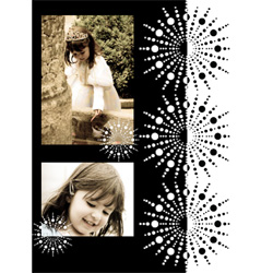 "Scrapbook template ""Black&White #13"" in ""Black&White"""