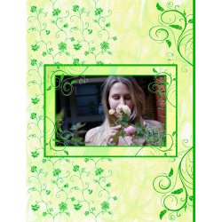 "Scrapbook template ""Nature #05"" in ""Nature"""