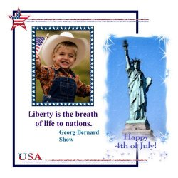 "Scrapbook template ""Independence Day #7"" in ""Independence"""