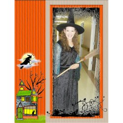 "Scrapbook template ""Halloween2008 #13"" in ""Halloween"""