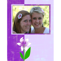"Scrapbook template ""Spring #28"" in ""Spring"""