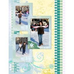 "Scrapbook template ""Winter 2011 #09"" in ""Seasonal"""