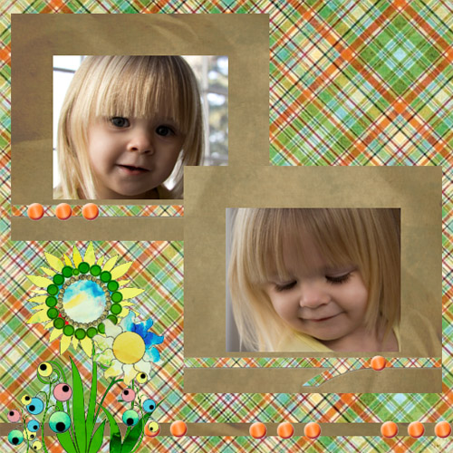 "Scrapbook template ""Easter #34"" in ""Easter"""