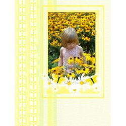 "Scrapbook template ""Nature #11"" in ""Nature"""