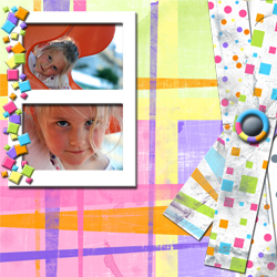 "Scrapbook template ""Playground #04"" in ""Family"""