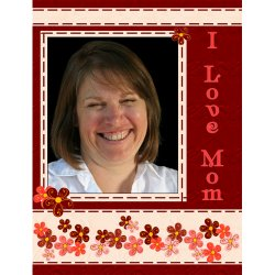 "Scrapbook template ""Mothers Day #24"" in ""Mother`s Day"""