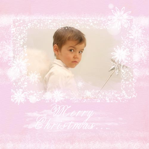 "Scrapbook template ""Christmas 2009 #13"" in ""Christmas Scrapbooking"""