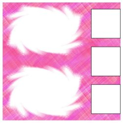 "Scrapbook template ""Pink (backgrounds) #7"" in ""Backgrounds"""