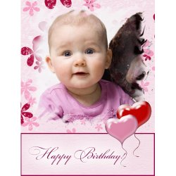 "Scrapbook template ""Birthday #07"" in ""Birthday Scrapbooking"""