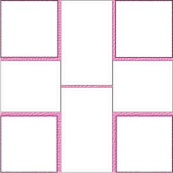 "Scrapbook template ""Pink (backgrounds) #18"" in ""Backgrounds"""