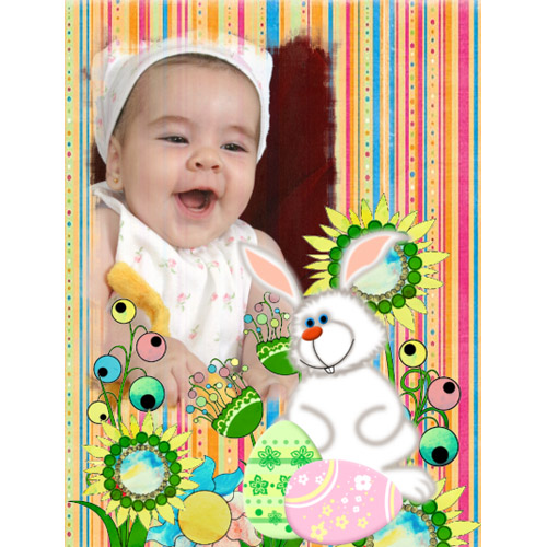 "Scrapbook template ""Easter #21"" in ""Easter"""
