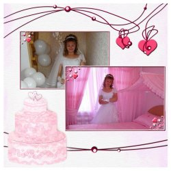 "Scrapbook template ""Wedding #1"" in ""Wedding Scrapbooking Templates"""