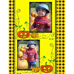 "Scrapbook template ""Halloween2008 #15"" in ""Halloween"""