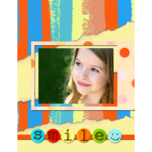 "Scrapbook template ""Family #09"" in ""Family"""
