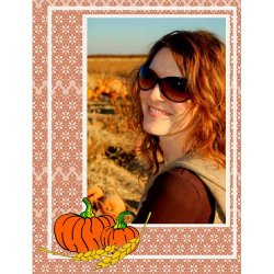 "Scrapbook template ""Thanksgiving #05"" in ""Thanksgiving"""
