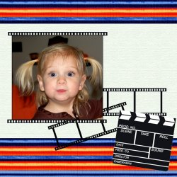 "Scrapbook template ""Cinema #12"" in ""Fan Pages"""