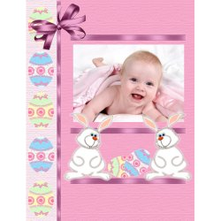 "Scrapbook template ""Easter #12"" in ""Easter"""