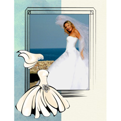 "Scrapbook template ""Wedding #01"" in ""Wedding Scrapbooking Templates"""