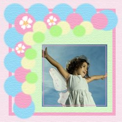"Scrapbook template ""Spring #08"" in ""Spring"""